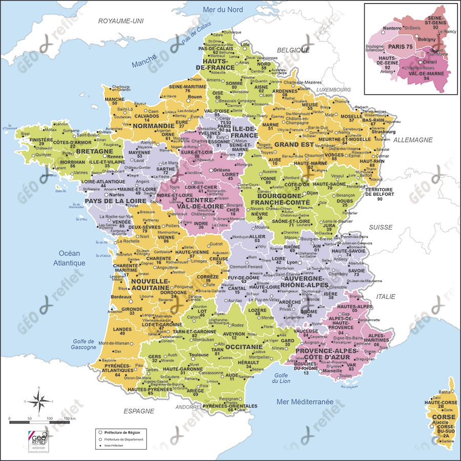 carte-de-france - Photos